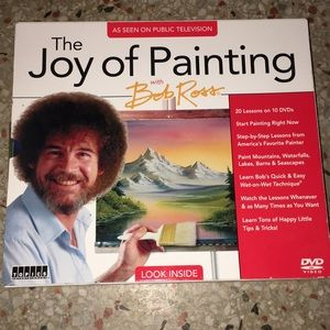 Other - 6 bob Ross painting CDs